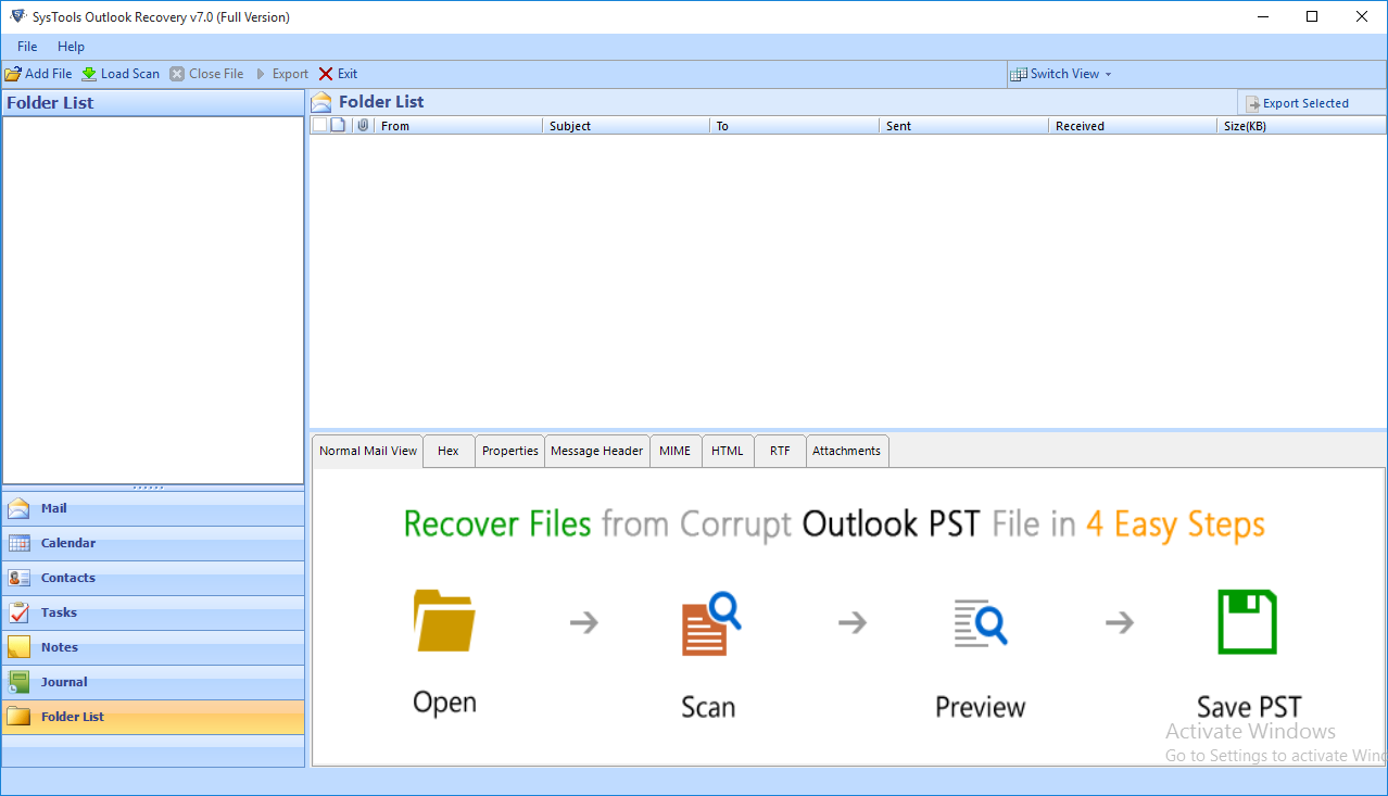 outlook repair product