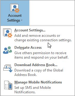 SMTP Authentication in Outlook 2016
