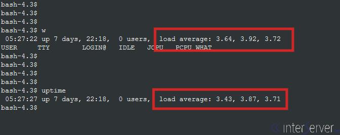 server load